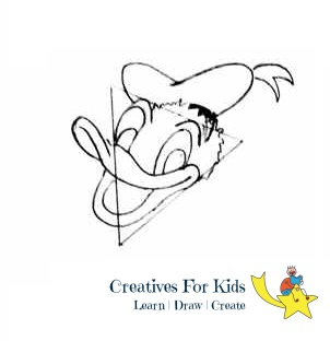 How To Draw Donald Duck Step By Step Tutorial