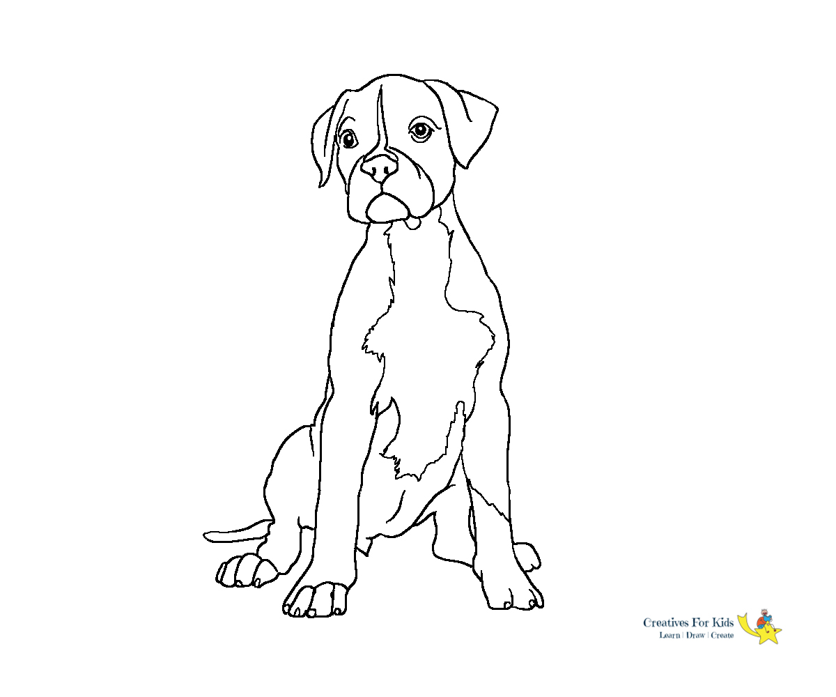 Dog coloring page   Free Printable Coloring Pages   1000x1200