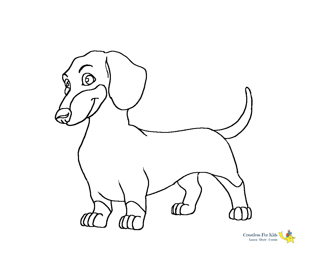 Dog Coloring Pages - Kiddo